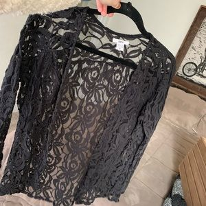 1a8f7d64e322e The little black top.. silk peasant style camisole.  M 5b958e7661974570625741db. Other Tops you may like. Lace long sleeve